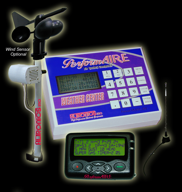 Performaire Weather Center Racing Weather Station
