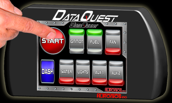 Racing Data Logger : Race car data acquisition racing systems