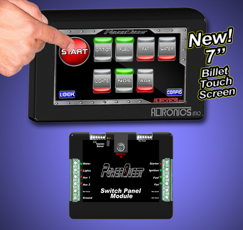 PowerQuest Touch Screen Swithc Panel