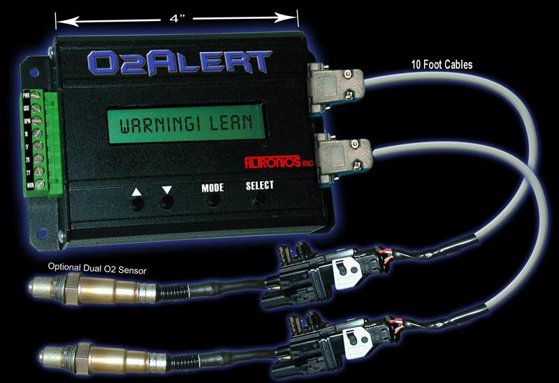 O2alert Arr Fuel Ratio Wideband Oxygen Sensor Recorder And