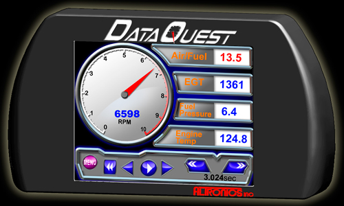 Event Data Logger With Screen : Dataquest racing data logger and recording system for drag