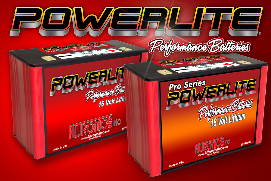 Powerlite Lithium autmotive batteries
