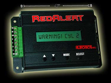 RedAlert EGT Recording and Warning System (1 Clamp-On Probe)