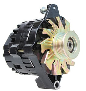 Powerlite 12 Volt Alternator Black