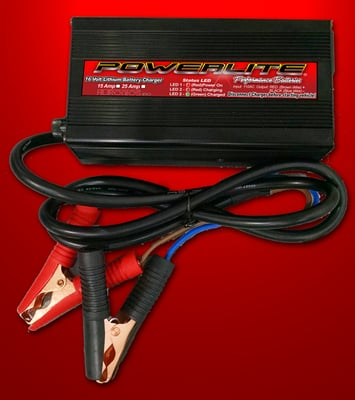 12V 25A Powerlite Lithium Charger